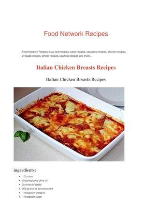 Calamo Italian Chicken Breast Recipes