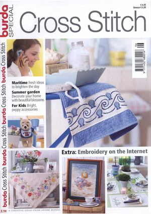 Burda Special Cross Stitch E796
