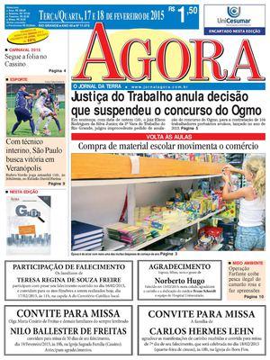 Calaméo - Jornal Agora - Edição 11073 - 17 e 18 de Fevereiro de 2015 d9cbefb797c