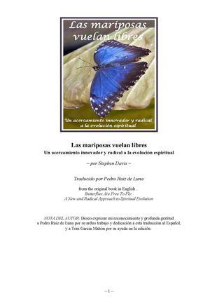 sale retailer 52078 e0130 Las Mariposas Vuelan Libres. Stephen Davis