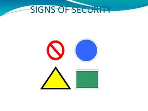 Signs Of Security