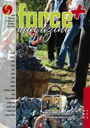 Force Plus Novembre 2011
