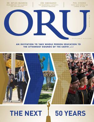 ORU Excellence Magazine | Vol. 27 No. 1 | Winter 2015