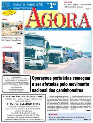 Calaméo - Jornal Agora - 11081 - 27 de Fevereiro de 2015 91133bc687bae