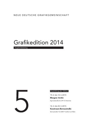 Angebotskatalog Grafikedition 2014