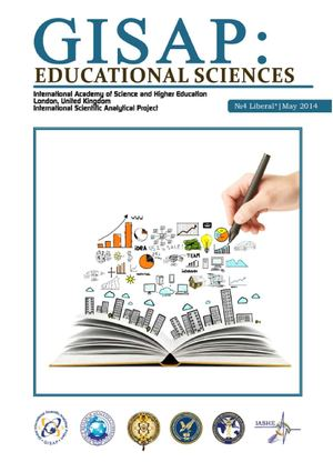 GISAP: Educational Sciences (Issue 4)