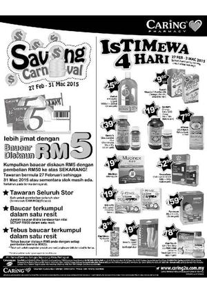 istimewa-4-hari-at-caring-pharmacy-offers-valid-from-february-27-to-march-2-2015-60590