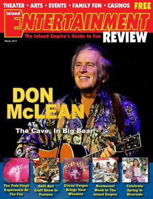 Inland Entertainment Review Magazine, March 2015