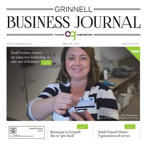 Grinnell Business Journal March 6, 2015 Volume 2 Issue 1