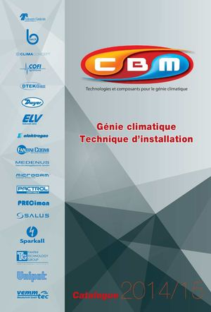 Catalogue Cbm Genie Climatique