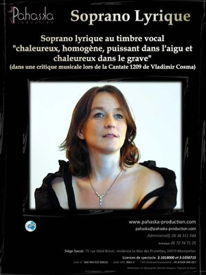 Ulrike Van Cotthem, Soprano Lyrique