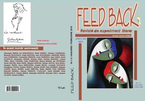 Revista FEED BACK nr.1-2 , 2015