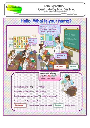 1 Ficha Informativa What´s Your Name