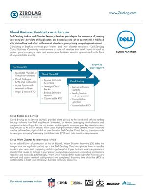 Cloud Business Continuity As A Service