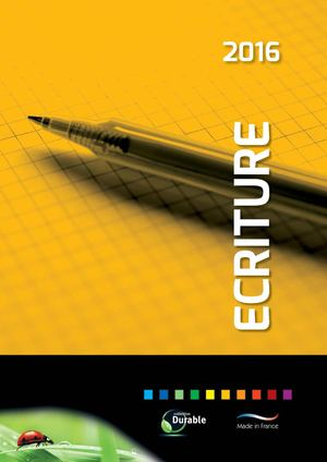 Ecriture Ephemeride Catalogue 2016