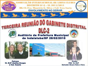 3ªreunião Do Gabinete Distrital