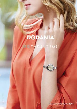 Catalogue Rodania Basic Femmes 2015