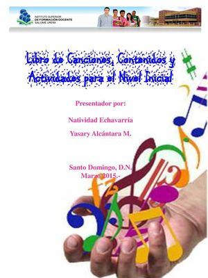 Calaméo - Libro de Canciones, Contenidos y Actividades para el Nivel ...