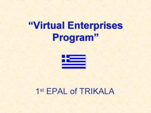 Good Practice Virtual Enterprises (1)