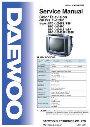 DAEWOO DTQ-20V3SCG TREIBER WINDOWS 10