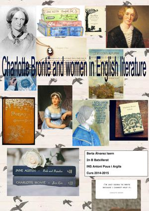 Charlotte Brontë And Women In English Literature