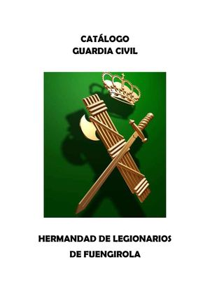 CATALOGO GUARDIA CIVIL