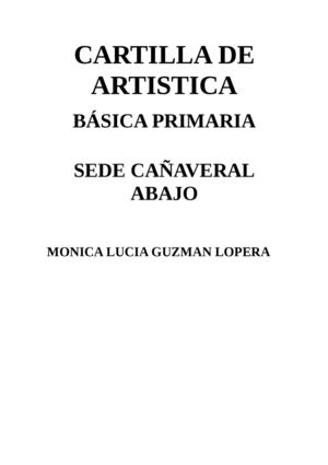 Calaméo - Cartilla Artistica