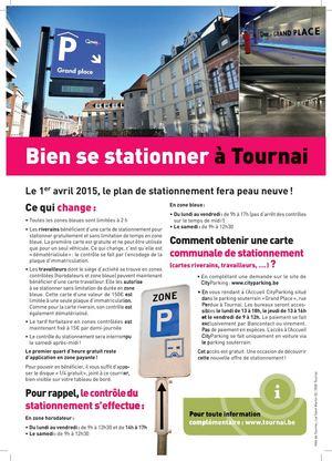 Carte Zone Bleue Tournai.Calameo Tournai Plan De Stationnement 2015