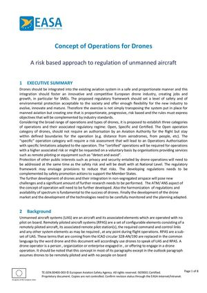 Calaméo - Easa Concept Of Operations 12 03 2015
