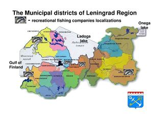 Nordic Way Forward 24 4 2014 #17extra - The Municipal Districts Of Leningrad Region - Recreational Fishing Companies Localizations
