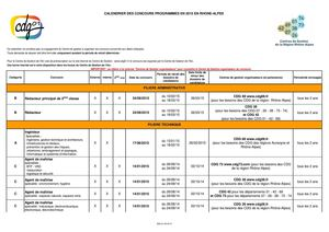 Calendrier Ra Concours 2015 Cdg Ain 01