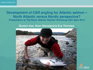 Nordic Way Forward 25 4 2014 #11 _ystein Aas - NINA - Development Of CR Angling For Atlantic Salmon _ North Atlantic Versus Nordic Perspective