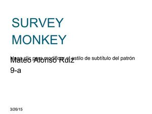 Survey Mico 9 A