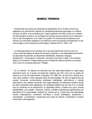 Marco Teorico Proyecto