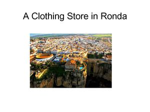 Locating A Store In Ronda