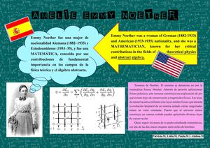 Martínez Zambudio Lydia 10822 Assignsubmission File Emmy Noether