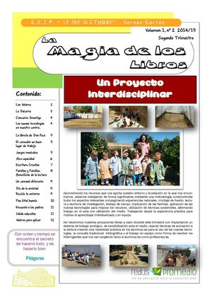 Revista 2º Trimestre 2014-15