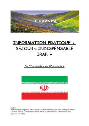Insipensable Iran