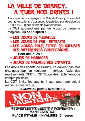 Droit Tract 2015