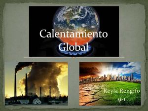 Calentamiento Global1
