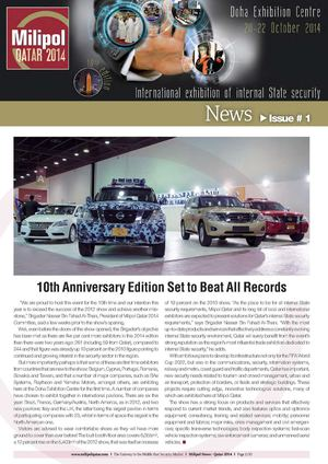 Milipol Qatar 2014 issue 01