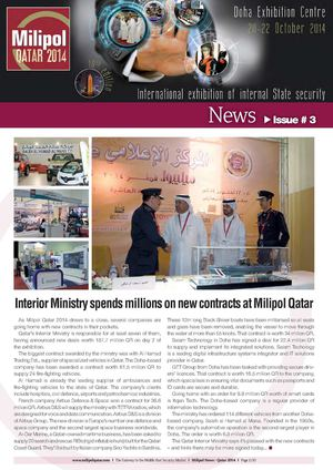 Milipol Qatar 2014 issue 03