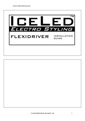 ICELED FLEXIDRIVER Guide