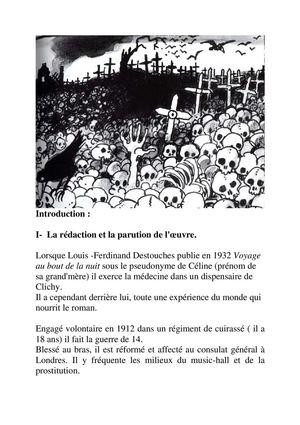 Calameo 8 Louis Ferdinand Celine Voyage Au Bout De La Nuit