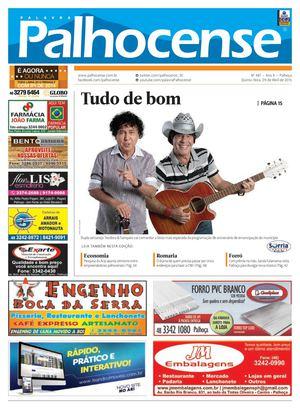 0c954e2920 Calaméo - Jornal Palavra Palhocense - Edição 481