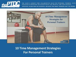 10 Time Management Strategies For Personal Trainers