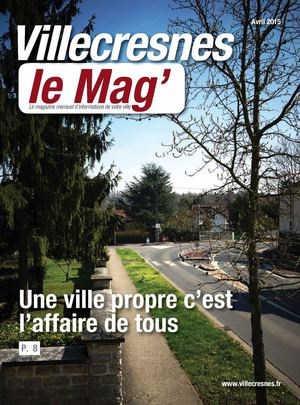 Villecresnes Le Mag' Avril 2015
