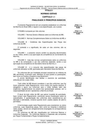 Calaméo - Regulamento de Uniformes da Marinha do Brasil (RUMB) VOLUME I 702927ba27
