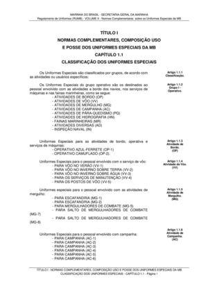 Calaméo - Regulamento de Uniformes da Marinha do Brasil (RUMB) VOLUME II 867fdb8242