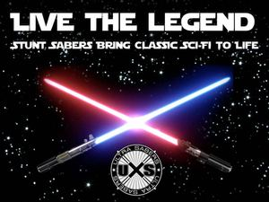 Live The Legend Stunt Sabers Bring Classic Sci Fi To Life